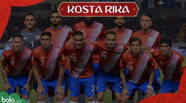 Berita Video Profil Tim Piala Dunia 2018, Kosta Rika