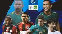 BRI Liga 1 - Duel Antarlini - Persipura Jayapura Vs Persebaya Surabaya (Bola.com/Adreanus Titus)