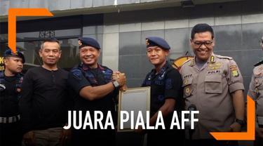 Bripda Sani diganjar kenaikan pangkat setelah berprestasi di ajang piala AFF U-22.