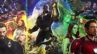 Poster resmi Avengers: Infinity War. (IGN)