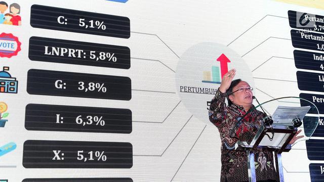 FOTO: Ketika Kepala Bappenas Berbicara Optimisme di Tahun Politik