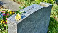 Ilustrasi Foto Pemakaman (iStockphoto)