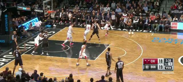 Berita video game recap NBA 2017-2018 antara Brooklyn Nets melawan Chicago Bulls dengan skor 114-105.
