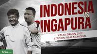 Sepak Bola Putra SEA Games 2019: Indonesia U-22 vs Singapura U-22. (Bola.com/Dody Iryawan)