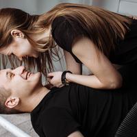 Stimulasi seks bisa dilakukan dari wajah/copyright: pixabay