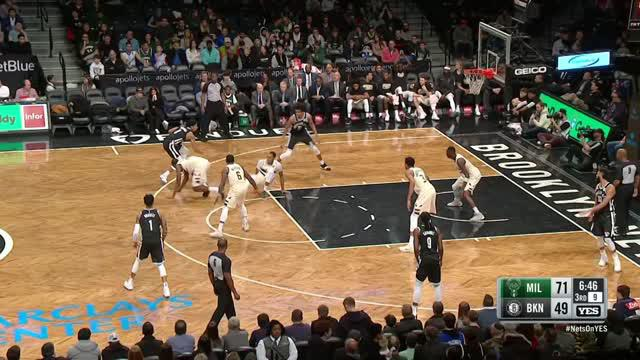 Berita video game recap NBA 2017-2018 antara Milwaukee Bucks melawan Brooklyn Nets dengan skor 109-94.