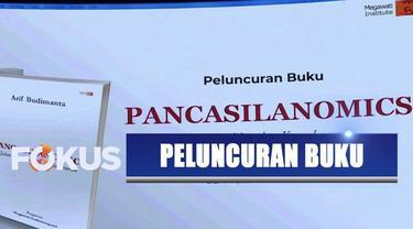 Direktur Eksekutif Megawati Institut Arif Budimanta meluncurkan buku yang diselesaikannya selama delapan tahun.