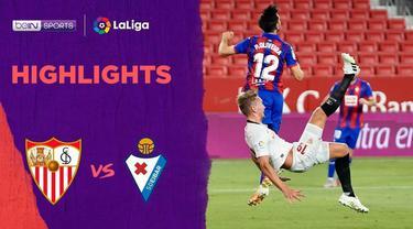 Berita Video Highlights La Liga, Gol Tunggal Lucas Ocampus Berhasil Menangkan Sevilla Atas Eibar