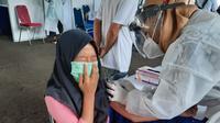 PT Brantas Abipraya (Persero) meggelar vaksinasi Covid-19 gratis (dok: humas)