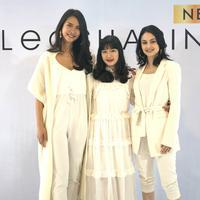 Penataan servis hair shaping oleh model, Clara Sutantio, Clara Bernadeth, Vanessa Andrea. (Istimewa)