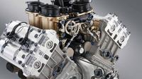 Mesin motor MotoGP dengan karakteristik big bang. (Istimewa)