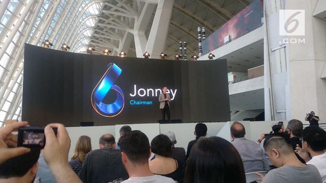 Asus resmi luncurkan smartphone terbarunya, Zenfone 6. (Liputan6.com/ Arthur Gideon)