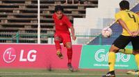 Witan Sulaeman menegaskan Timnas Indonesia U-22 wajib meraih kemenangan pada laga pamungkas Grup B kontra Kamboja U-22. (Bola.com/Zulfirdaus Harahap)