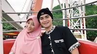 Muhammad Alvin Faiz dan Larissa Chou.