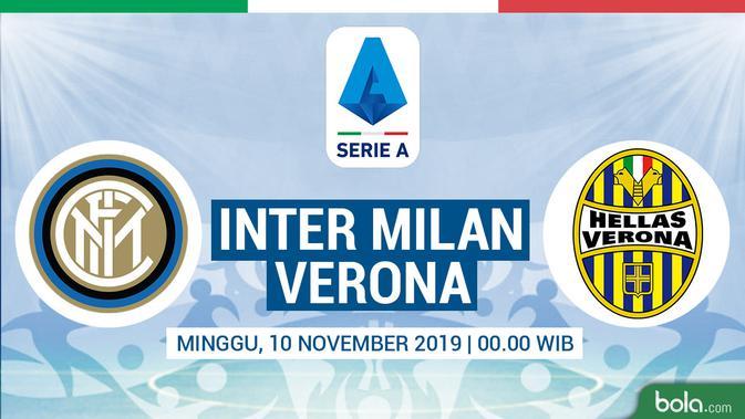 Jadwal Siaran Langsung Serie A Di Rcti Inter Milan Vs Hellas Verona Dunia Bola Com