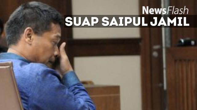 Panitera Jakarta Utara yang terbukti menerima suap Saipul Jamil. Ia pun diganjar hukuman penjara dan juga denda