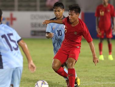 Aksi Timnas Indonesia U-16 Saat Gulung Kepulauan Mariana Utara