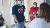 """Begini penampakan rumah dinas Wali Kota Semarang setelah jadi """"ruang isolasi"""" pasien corona covid-19. (foto: Liputan6.com/felek wahyu)"""