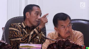 Jokowi Pimpin Ratas Bahas Pemindahan Ibu Kota