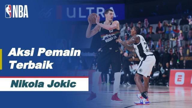 Berita Video aksi - aksi  terbaik saat Nikola Jokic membawa Denver Nuggets menang atas LA Clippers 111-98 di NBA