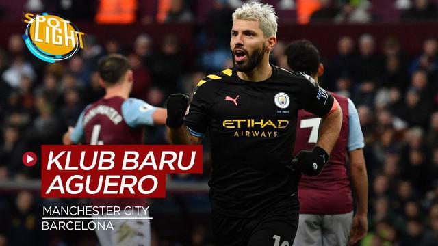 Berita video spotlight kai ini membahas tentang calon klub Sergio Aguero setelah hengkang dari Manchester City.