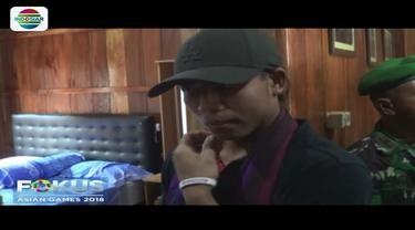 Sama seperti atlet lainnya, pelari Lalu Muhammad Zohri diberi waktu untuk pulang ke kampung halaman di Lombok. Zohri kaget melihat kamarnya pasca renovasi.