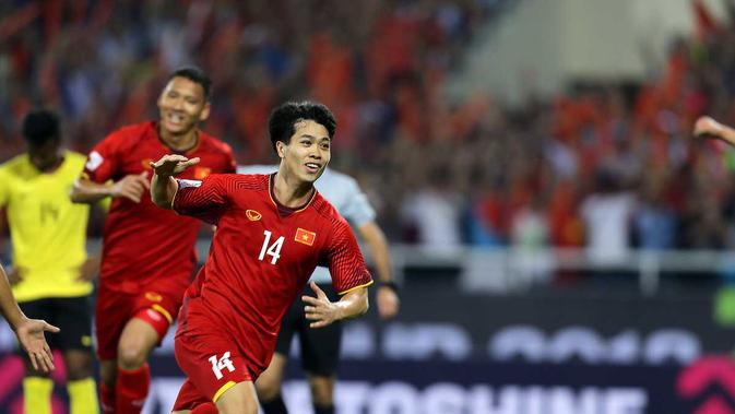 Penyerang muda Vietnam, Nguyen Cong Phuong, menjadi salah satu pemain muda yang bersinar di Piala AFF 2018. (dok. AFF)