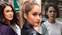 Gaya Luna Maya, Cinta Laura dan Andien Aisyah di New York Fashion Week. (Instagram/lunamaya,cintalaura,andienaisyah)