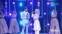Duet Lesti Kejora dan Rizky Billar di HUT SCTV ke-30 #3xtraOrdinary. (Sumber: Vidio)