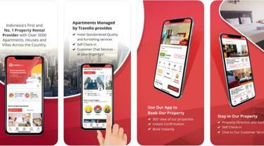 Aplikasi Travelio. Dok: apps.apple.com