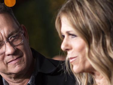 Aktor Hollywood Tom Hanks dan Istri Positif Virus Corona