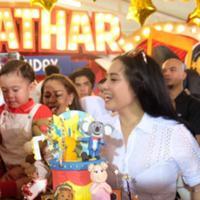 Perayaan ulang tahun Rafathar. (Instagram/therealransfamily)