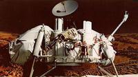 The Viking Landers mentransmisikan gambar permukaan dan menganalisis untuk komposisi dan tanda-tanda kehidupan dj Mars, belajar komposisi atmosfer dan meteorologi, dan digunakan seismometer. - NASA. (businessweek.com)