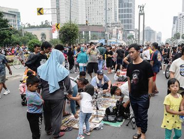 PKL Sesaki Kawasan CFD Jakarta