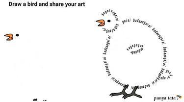 7 Karya Netizen saat Diminta Gambar Burung Ini Bikin Geleng Kepala