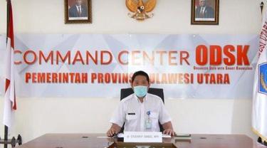 Jubir Satgas Covid-19 Provinsi Sulut dr Steaven Dandel.
