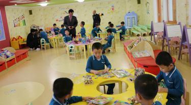 Anak yatim piatu di Korea Utara