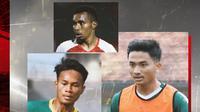 Todd Rivaldo Ferre, Hambali Tolib, Koko Ari. (Bola.com/Dody Iryawan)