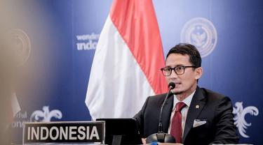 Buka G20 Tourism Ministers Meeting 2021, Sandiaga Uno Ingatkan Pariwisata Butuh Investasi Berkelanjutan