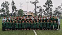 Timnas Indonesia U-16 di National Youth Training Centre (NYTC), Bojongsari, Kota Depok, Senin (13/5/2019)