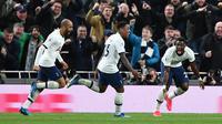 Winger Tottenham Hotspur Steven Bergwijn (BEN STANSALL / AFP)