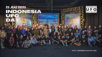 Perayaan Indonesia UFO Day 2021 ditunda untuk menghormati korban Covid-19 yang terus meningkat