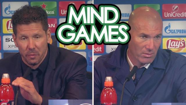 Berita video Mind Games kali ini menampilkan pernyataan ungkapan senang dari Pelatih Atletico Madrid, Diego Simeone, dan Pelatih Real Madrid, Zinedine Zidane, setelah Atletico mengalahkan Los Blancos 2-1 pada leg II Semifinal Liga Champions 2016-2017...
