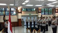 Kapolri Jenderal Polisi Tito Karnavian melantik 6 kapolda baru. (Liputan6.com/FX Richo Pramono)