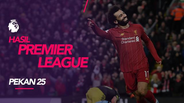 Berita video hasil Premier League 2019-2020 pekan ke-25. Liverpool kalahkan Southampton 4-0 di Anfield, Liverpool, Sabtu (1/2/2020).