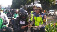 Sosialisasi sistem Electronic Traffic Law Enforcement (ETLE) (Merdeka.com/Ronald)