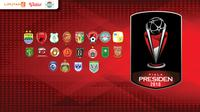 Banner Piala Presiden 2018 (Liputan6.com / Trie yas)