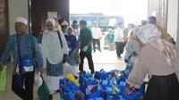 Jemaah haji Medan MES-22 jadi penutup yang tiba di Tanah Air. (www.haji.kemenag.go.id)