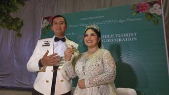 Dipersunting Perwira TNI Usai 8 Tahun Menjanda, Ini 6 Momen Pernikahan Joy Tobing