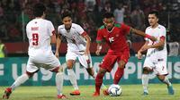 Timnas Indonesia U-19 menang atas Filipina 4-1, Kamis (5/7/2018) di Stadion Gelora Delta, Sidoarjo. (Bola.com/Aditya Wany)